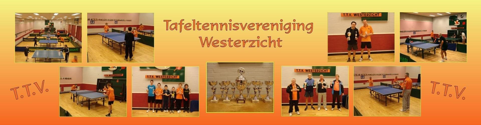 Welkom bij Tafeltennisvereniging Westerzicht