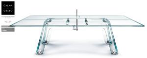 Glazen tafeltennistafel 1