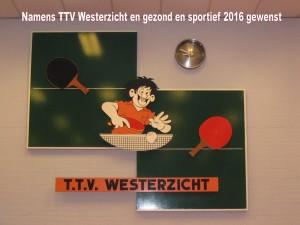 nieuwjaarsgroet TTV Westerzicht